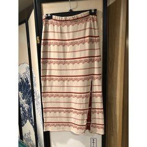 Free People Soft Sweater Skirt